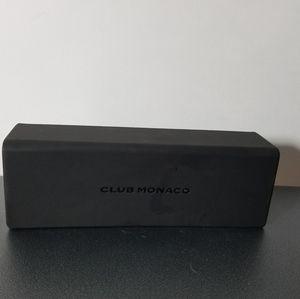 Club Monaco Eyeglass Sunglass Case with cloth